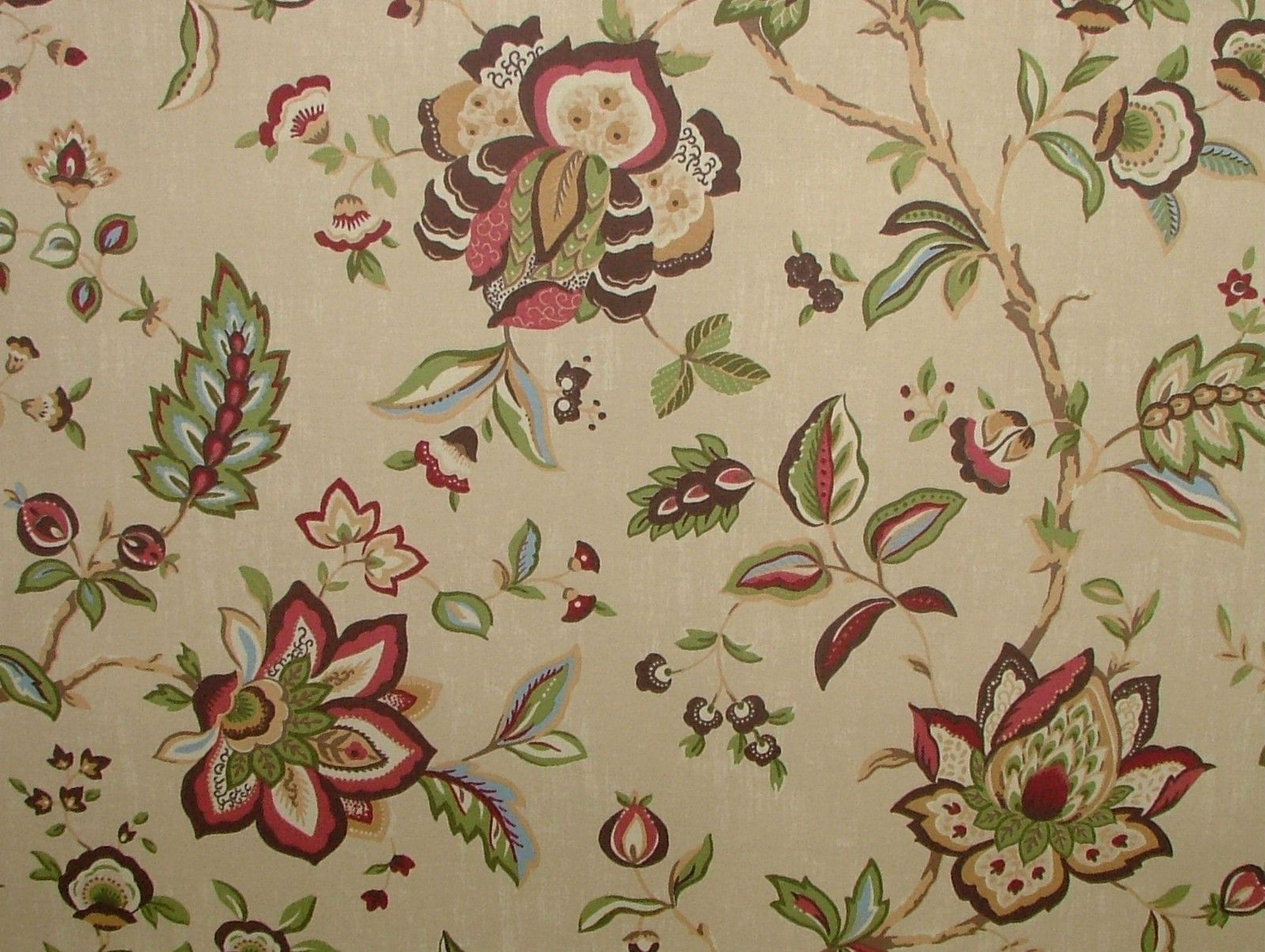Ashley Wilde Wilton Chintz Floral Curtain Upholstery Soft